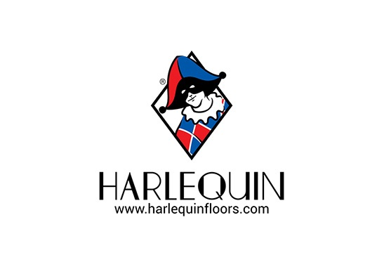 Harlequin Logohorizontal Space With Url Rgb